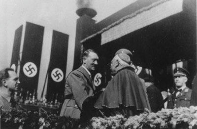 Hitler and Roman Catholic cardinal